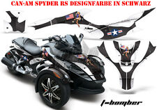 AMR Racing DECORO GRAPHIC KIT ATV CAN-AM SPYDER RS, RSS, RT, RT-S, f3 T-Bomber B