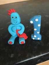 In The Night Garden Iggle Piggle Edible Cake Topper And Age 1.2.3.4.5.6