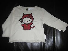 Victoria Couture HELLO KITTY CASHMERE MIX SWEATER TOP Sanrio 6 MONTHS New £62