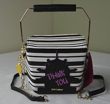 Betsey Johnson Kung Pow Betsey Chinese Take Out Box Crossbody