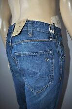 NEW RAG & BONE INDIGO 2 FULL LEG HANDMADE IN NEW YORK PREMIUM JEANS FOR MEN NWT