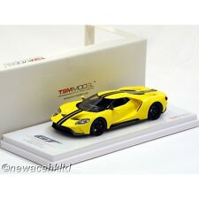 Ford GT Triple Yellow 2015 LA Auto Show TSM Models 1/43 #TSM1643100