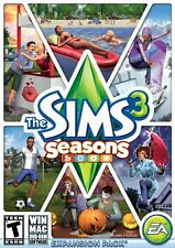 The Sims 3: Seasons Expansion Pack [PC Computer DVD Physical Copy Game] NEW