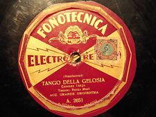 78 GIRI tenore RENZO MORI canta TANGO DELLA GELOSIA & MONELLO BRUNO