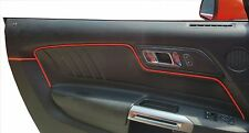 2015-2017 MUSTANG - INTERIOR TRIM EMBOSSED WELT KIT - BRIGHT RED