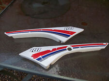 yamaha rd50mx / rd80mx  side panels fairing body panels side cover fairings