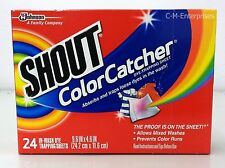 Shout Color Catcher Dye Trapping Laundry Sheet 24 sheets