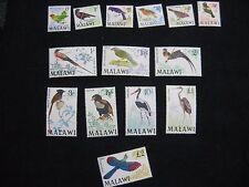 Malawi: 1968 oiseaux lot de 14 umm