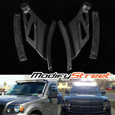 "04-08 FORD F150/09-14 F-150 RAPTOR 50"" CURVE LED LIGHT BAR ROOF MOUNTING BRACKET"