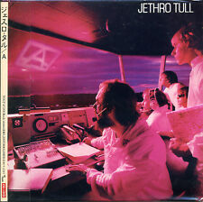 JETHRO TULL A (1980) + Slipstream (DVD) Japan Mini LP CD TOCP-67288