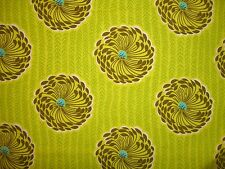 Lime Green Bright Yellow Olive Delhi Floral Flower Boho Soul Blossom Amy Butler