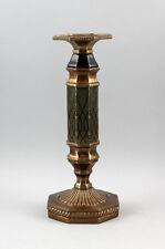 Kerzenständer Leuchter Messing farbig achteckig antikes Vorbild 9937499