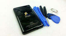 new metal black color  back housing case shell part fr ipod 6th gen classic 80gb