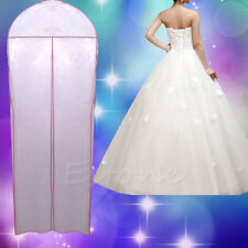 180cm Breathable Wedding Prom Dress Gown Garment Clothes Cover Dustproof Bag Zip