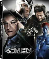 X-Men Experience Collection Blu-ray Disc, 2014, 6-Disc Set BRAND NEW SEALED
