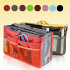 Women Travel Insert Handbag Organiser Dual Bag in Bag Organizer Tidy Bag Fashion