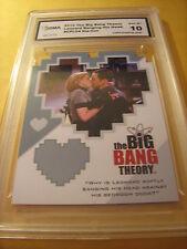 SHELDON & LEONARD'S MOM 2012 THE BIG BANG THEORY SEASON 3 & 4 COUPLE GRADED 10