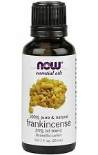 Now Foods Pure Frankincense Essential Oil Aromatherapy Diffuser 1oz 30ml Bottle