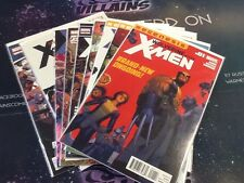 Marvel Comics Wolverine and the X-Men Issues 1-9 Comic Run Lot Xmen (CBR326)