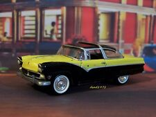 1955 55 FORD FAIRLANE CROWN VICTORIA 1/64 SCALE DIECAST MODEL COLLECT DIORAMA