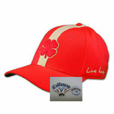 Black Clover Red Strip Golf Hat w/ Callaway Red /Wh/ Blue Hat Clip