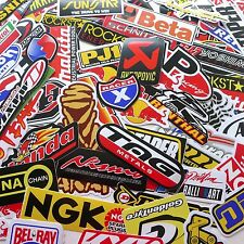 100 Mixed Random Sticker Decal Car ATV Bike Racing Helmet Motorcross Dirt BMX