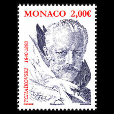 Monaco 2015 - Birth of Pyotr Ilyich Tchaikovsky Famous People - MNH