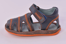 Camper Bicho 80372 004 Infant Boys Blue Leather Sandals UK 4 EU 20 US 5.5