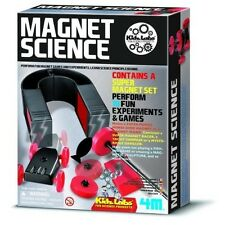 MAGNET SCIENCE KIT Magnetic toy Homeschool Experiments Fair Project Set N&S POLE