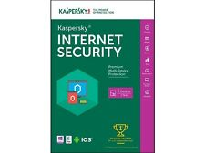Kaspersky Internet Security 2016 - Key Card - 5 PCs