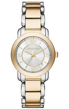 NEW MICHAEL KORS MK3487 JANEY TWO TONE SILVER GOLD STAINLESS STEEL WOMEN'S WATCH