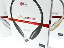 New LG Electronics TONE INFINIM HBS-900 Black Wireless Bluetooth Stereo Headset