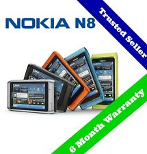 ~ ORIGINAL ~ 16GB Nokia N8 Mobile 3G Smart Phone | Unlocked | 6 Month Warranty