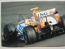 NELSON PIQUET JUNIOR Formel 1 In-Person signed Foto 20x30 Autogramm