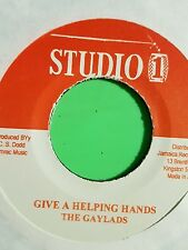 Studio 1 - Give A Helping Hands / Never Let Your Country Down - The Gaylads