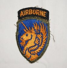 13th Airborne Division Patch WWII US Army P2107