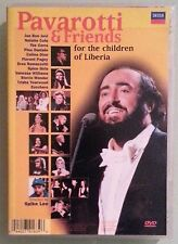 pavarotti & friends FOR THE CHILDREN OF LIBERIA / FOR GUATEMALA AND KOSOVO  DVD
