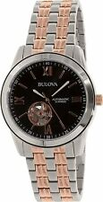 Bulova Men's 98A144 Marine Star Automatic 21 Jewel Movement Two-Tone Watch