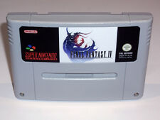 FINAL FANTASY IV - PAL IN ENGLISH GAME - SUPER NINTENDO SNES - 4 V VI