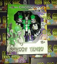 Iron Factory IF-EX19 Transformers Sixshot Shadow Tengu New