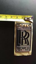 OEM GENUINE Rolls Royce Dawn Wraith Badge Emblem RARE