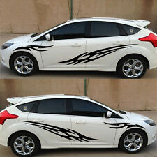 Black  Car Decal Vinyl Graphics Side stickers Body Decals sticker D-76-1