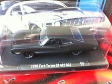 M2 Machines Auto DRIVERS '70 FORD TORINO GT 429 R35 Limited Frozen Black Pearl