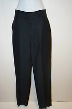 NEW Marc by Marc Jacobs Black Trouser Dress Pants Size 2 Silk Lined  Women