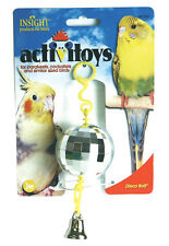 JW PET BIRD TOY DISCO BALL PARAKEET COCKATIEL CANARY FREE SHIP TO THE USA