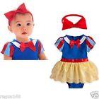 Baby Girl Schneewittchen Kostüm mit Stirnband Geburtstag Schule Play Party
