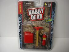 HOBBY GEAR Jerry can, Pick, Fire Extinguisher-1/10 Rock Crawler AXIAL/AX10/SC10
