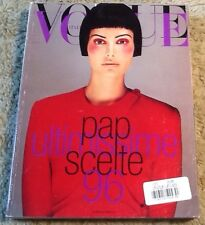 Vogue Italia September 1996 Elsa Benitez Very Good