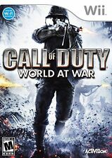 Wii  - Call Of Duty: World At War. MA15+.