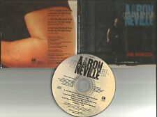 AARON NEVILLE Brothers Can't Stop My heart REMIXES/REGGAE EDIT PROMO CD single